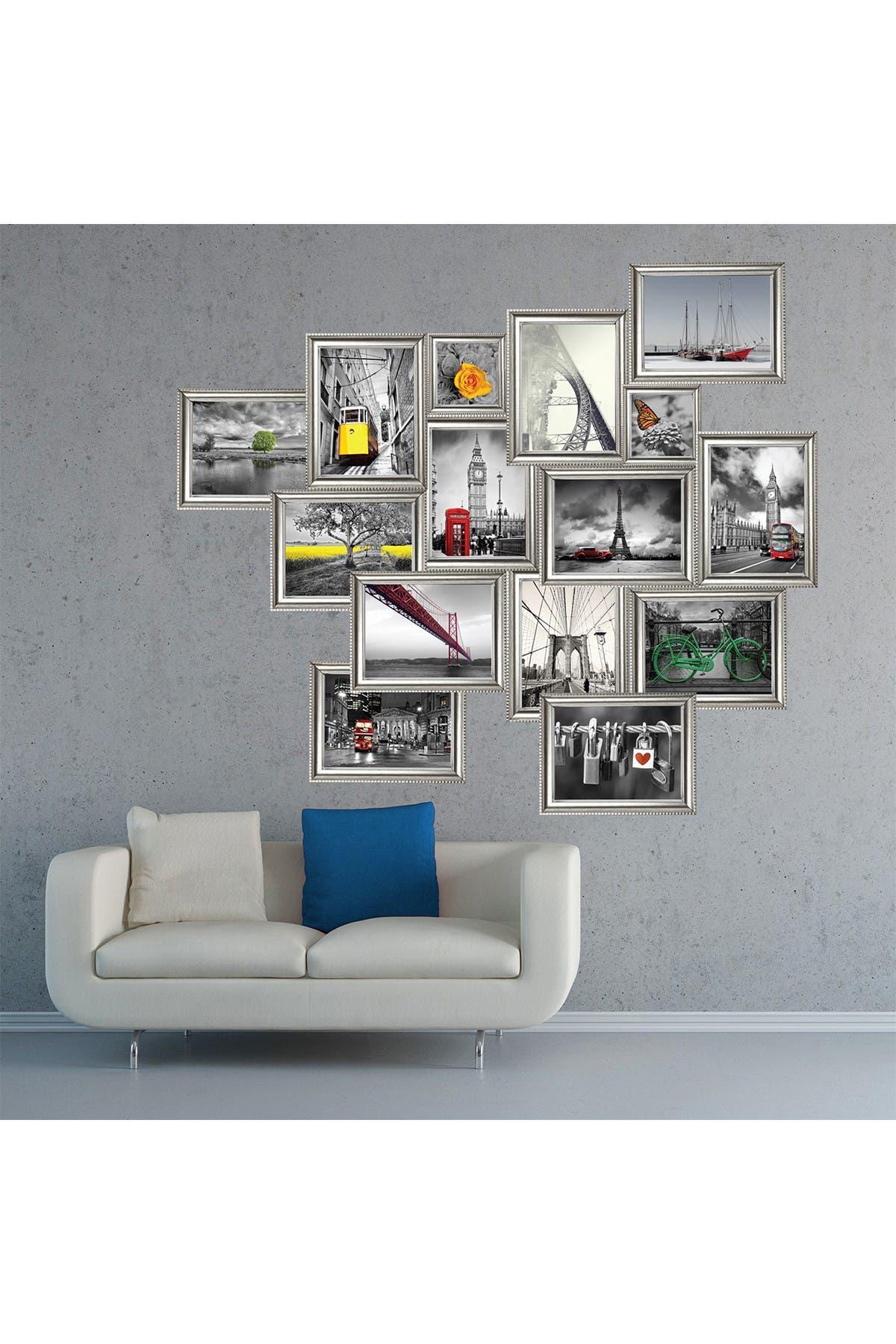 Image of WalPlus 3D Landscape Silver Frames Decal