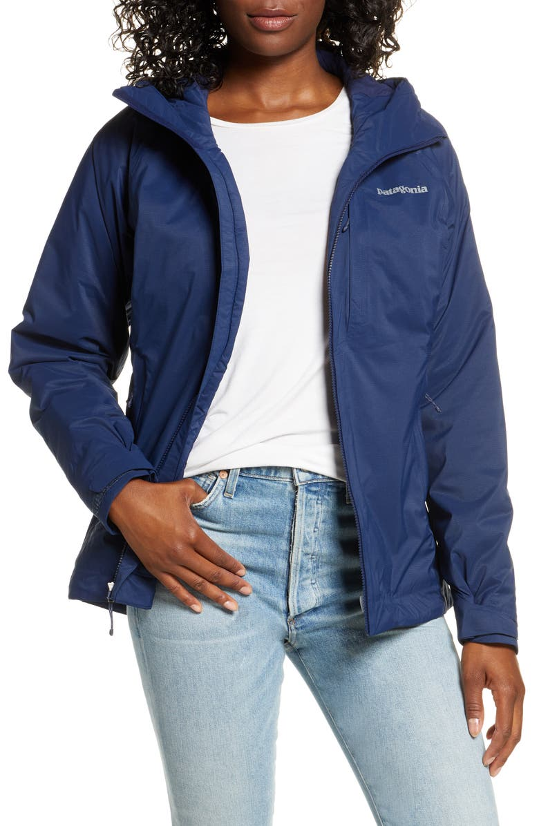 PATAGONIA Nano Storm Waterproof Stretch Jacket, Main, color, CNY CLASSIC NAVY