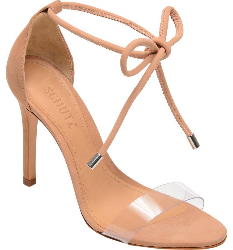 SCHUTZ Shutz Monique Ankle Tie Sandal, Main, color, 250