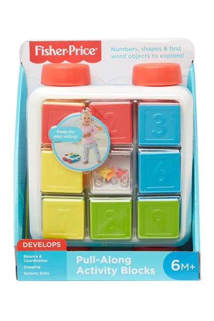 Image of Fisher-Price Pull-Along Activity Blocks