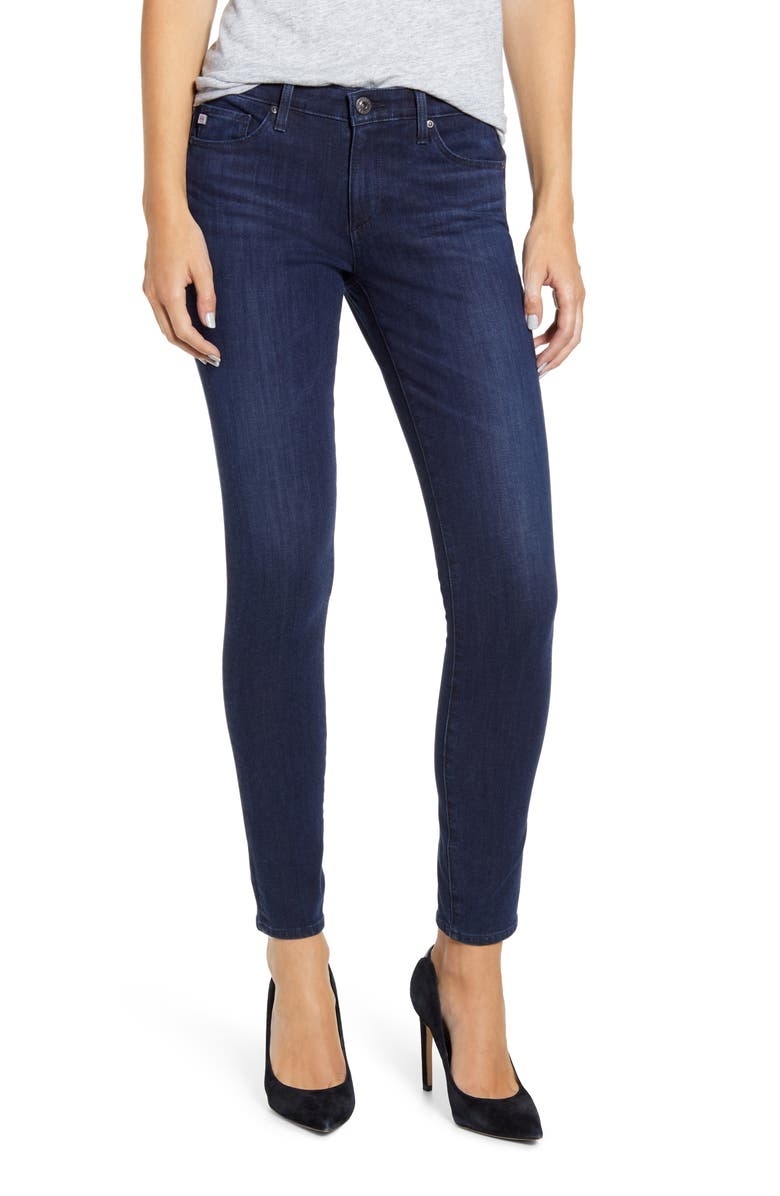 AG The Legging Ankle Skinny Jeans, Main, color, INDIGO EXCESS