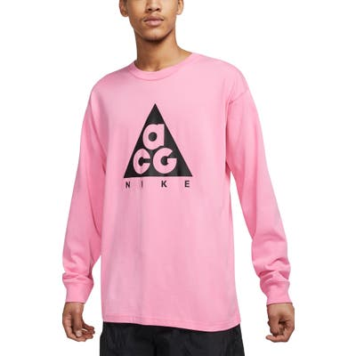 Nike Nrg All Conditions Gear Logo T-Shirt, Pink