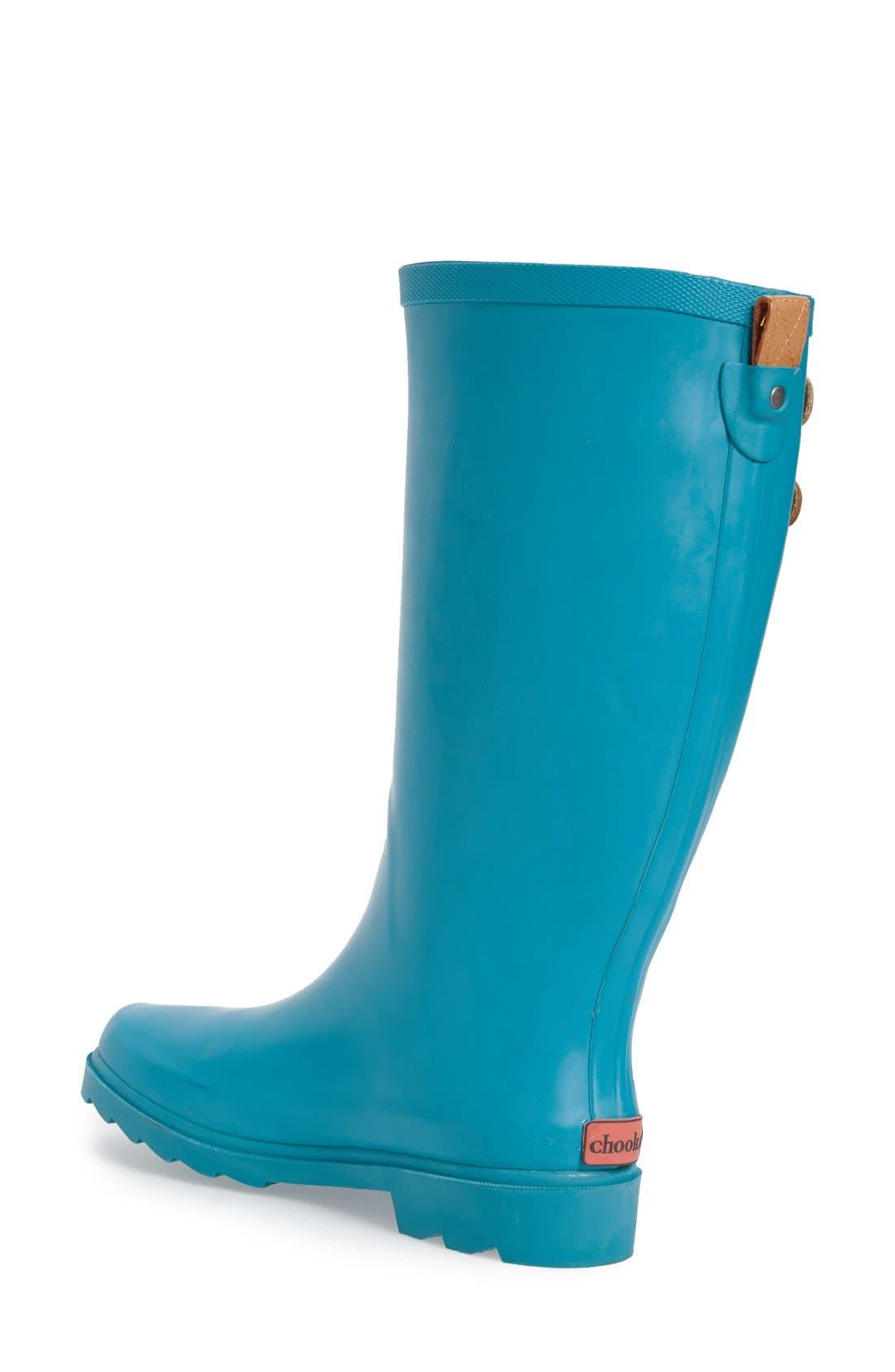 ,                             'Top Solid' Rain Boot,                             Alternate thumbnail 60, color,                             403