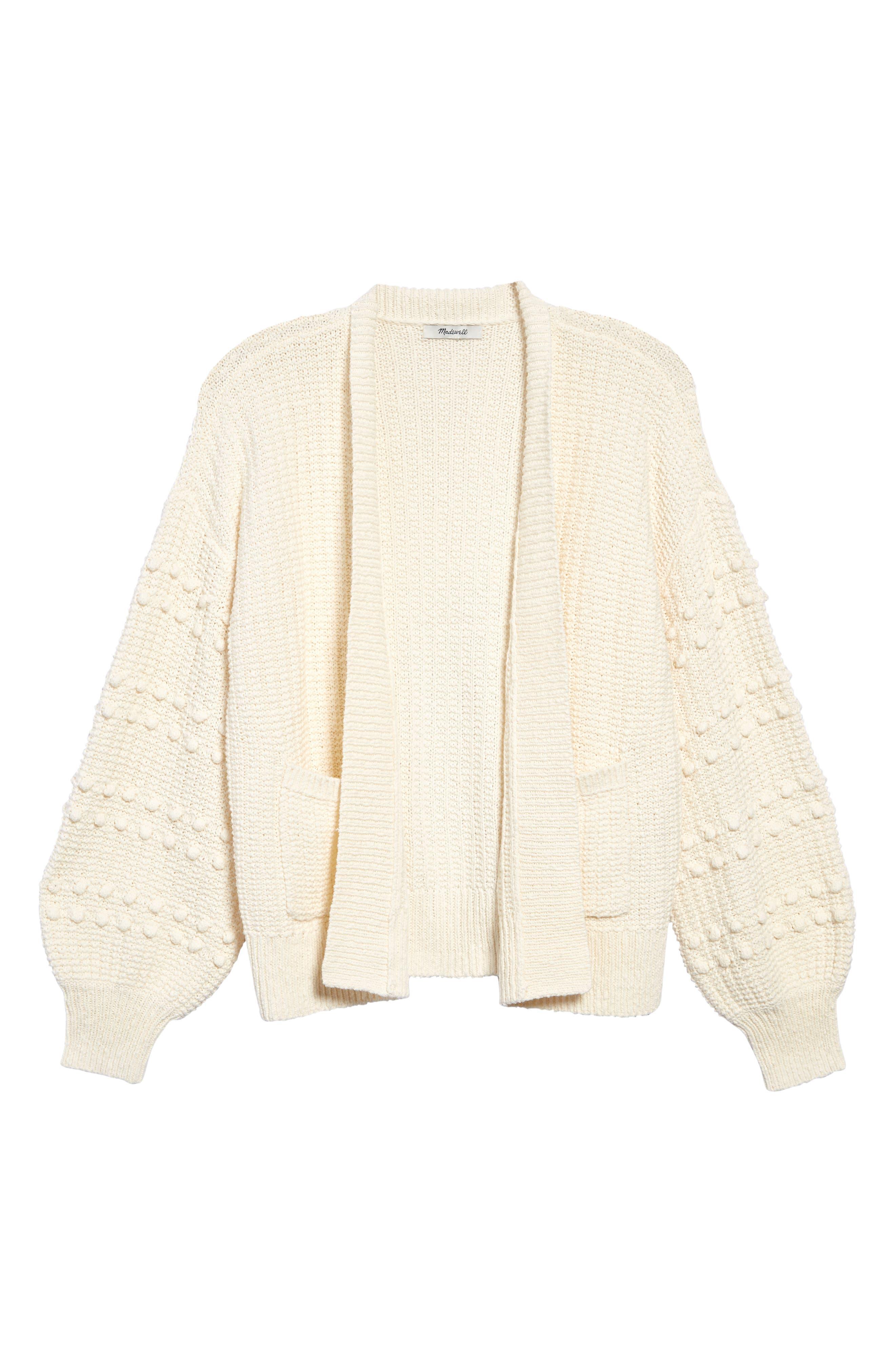 Madewell Bobble Cardigan Sweater (Regular & Plus Size)