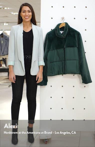 Mixed Media Puffer Coat, sales video thumbnail