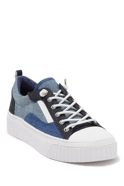 Image of MICHAEL Michael Kors Oscar Lace-Up Platform Sneaker