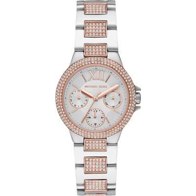 Michael Kors Camille Pave Bracelet Watch, 3m