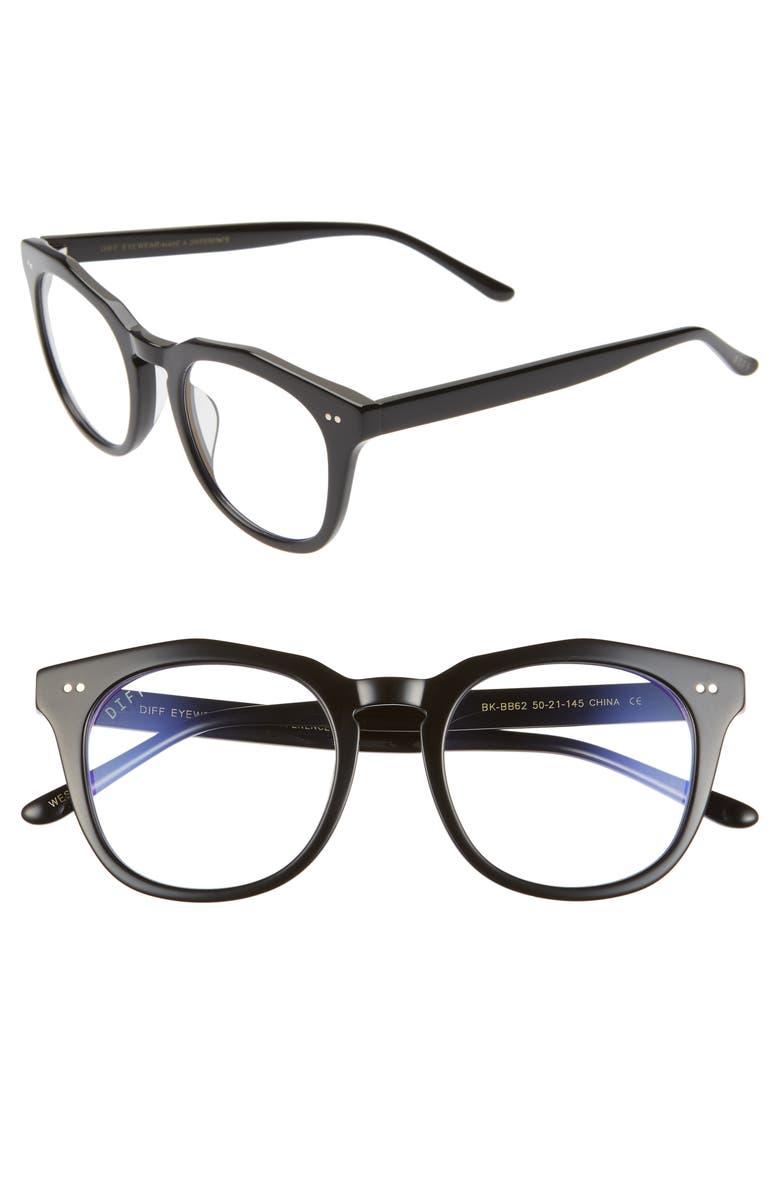 DIFF 50mm Blue Light Blocking Glasses