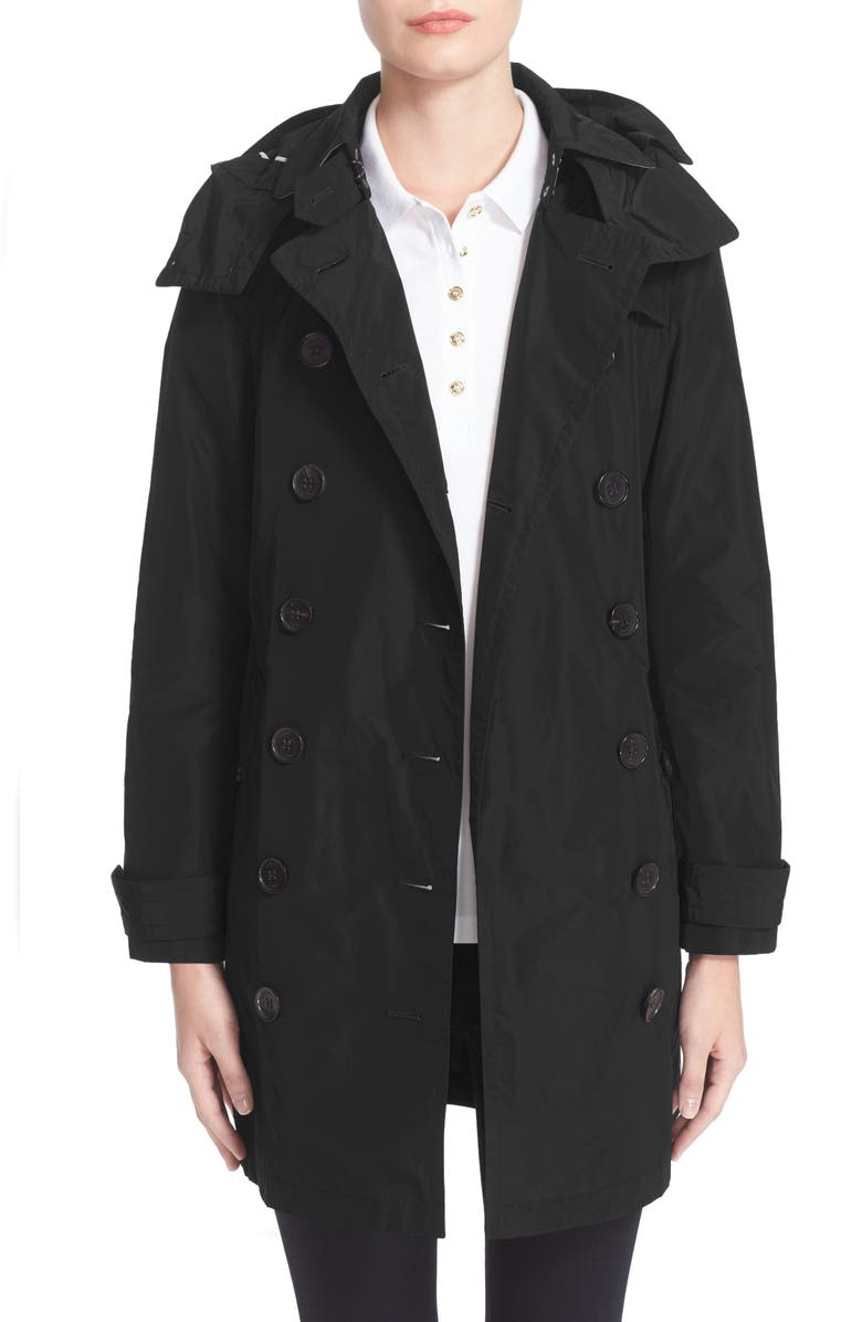 BURBERRY Balmoral Packable Trench, Main, color, 001