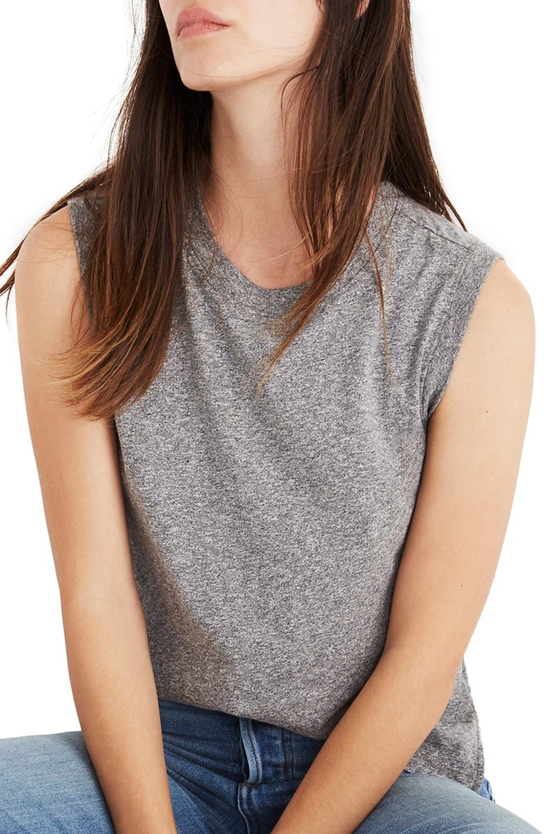MADEWELL Ex-Boyfriend Muscle Tank, Main, color, 020
