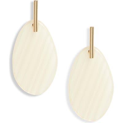 Halogen Resin Drop Earrings