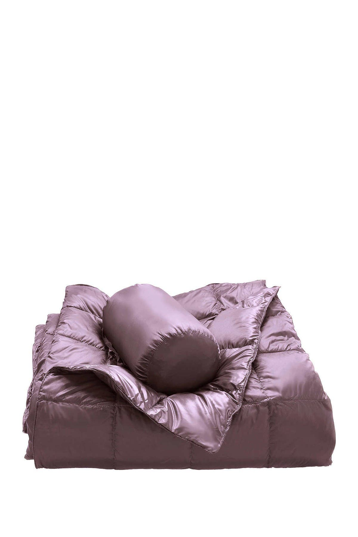 Image of Blue Ridge Home Fashions Warm & Cozy Packable Duck Down Throw - Amethyst