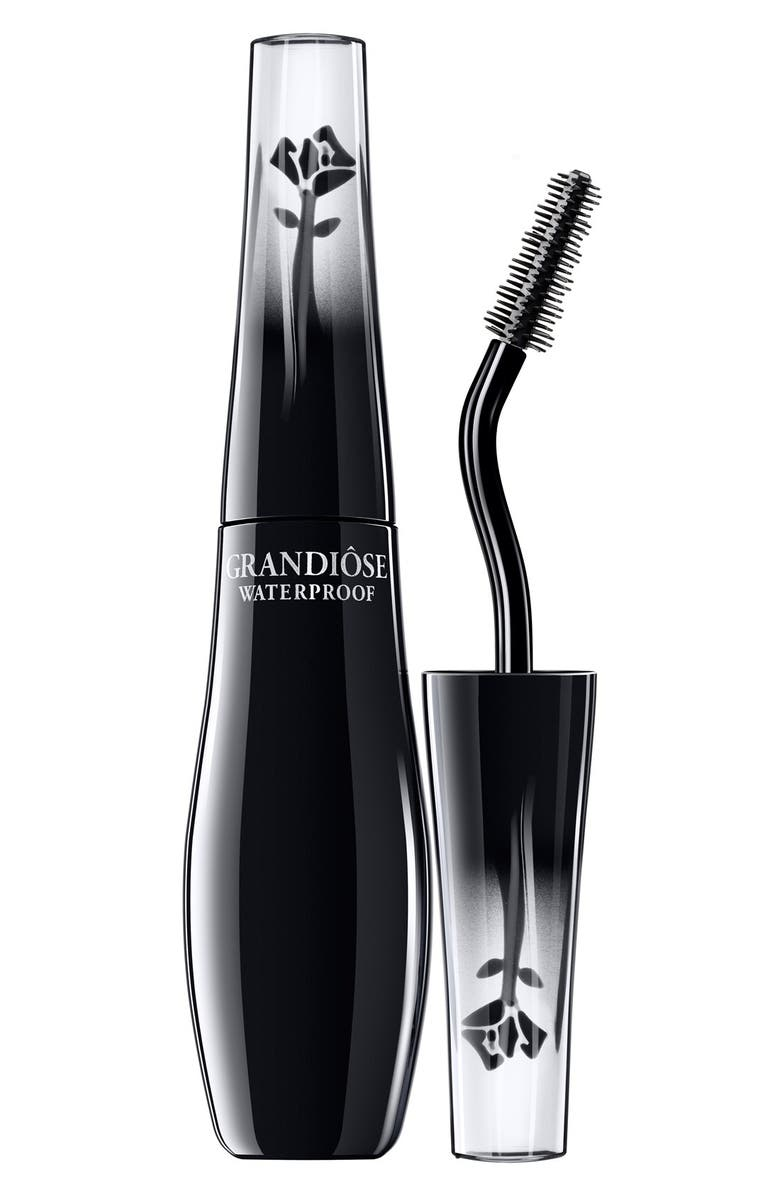 LANCÔME Grandiose Multi-Benefit Lengthening, Lifting and Volumizing Waterproof Mascara, Main, color, BLACK
