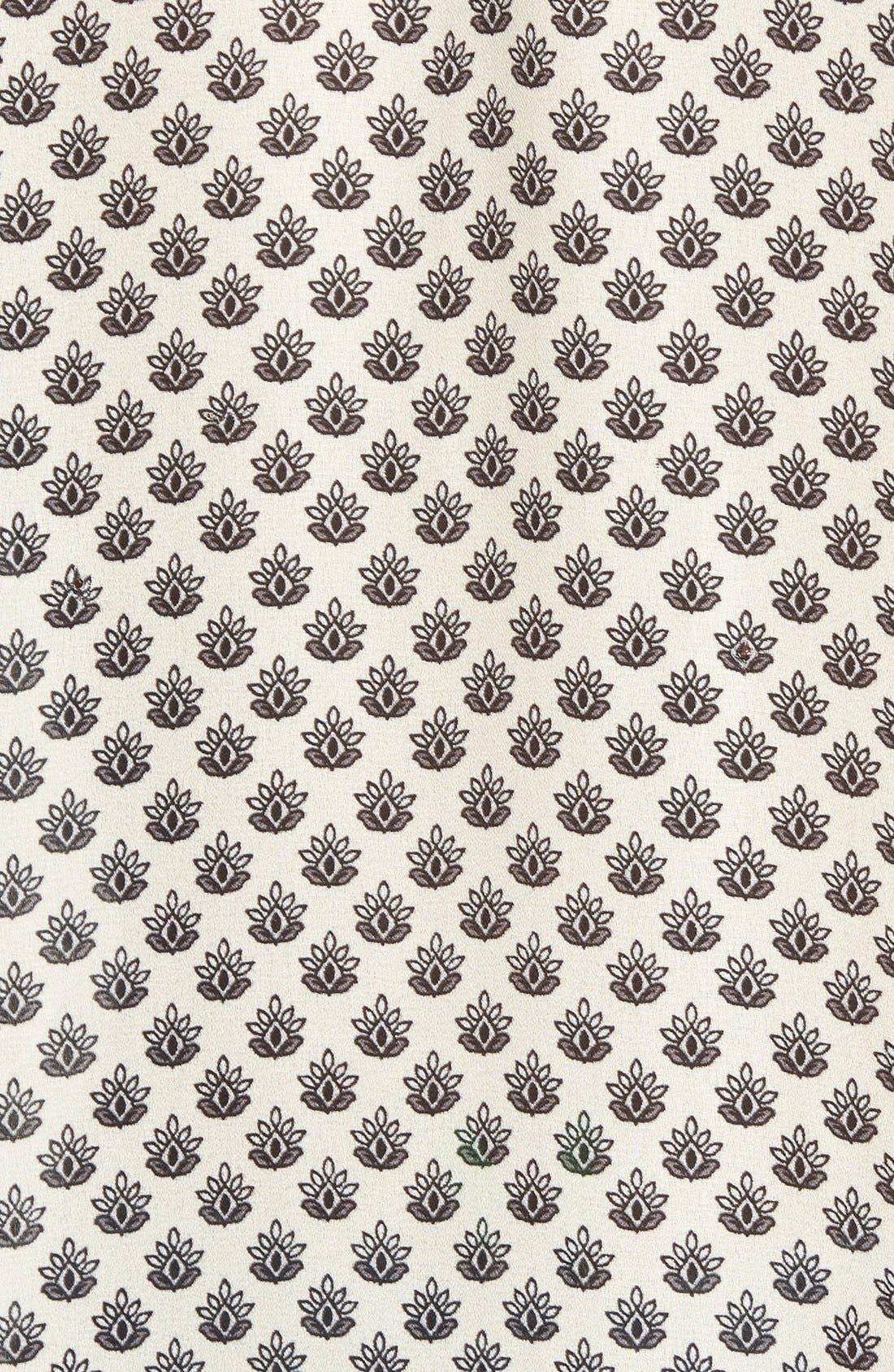 ,                             Tie Neck Button Front Blouse,                             Alternate thumbnail 8, color,                             901