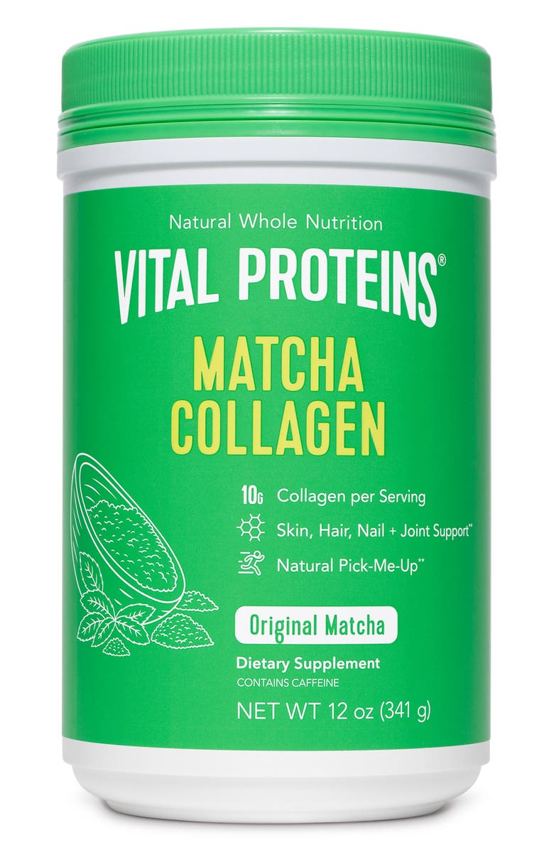 VITAL PROTEINS Matcha Collagen Peptides, Main, color, 300