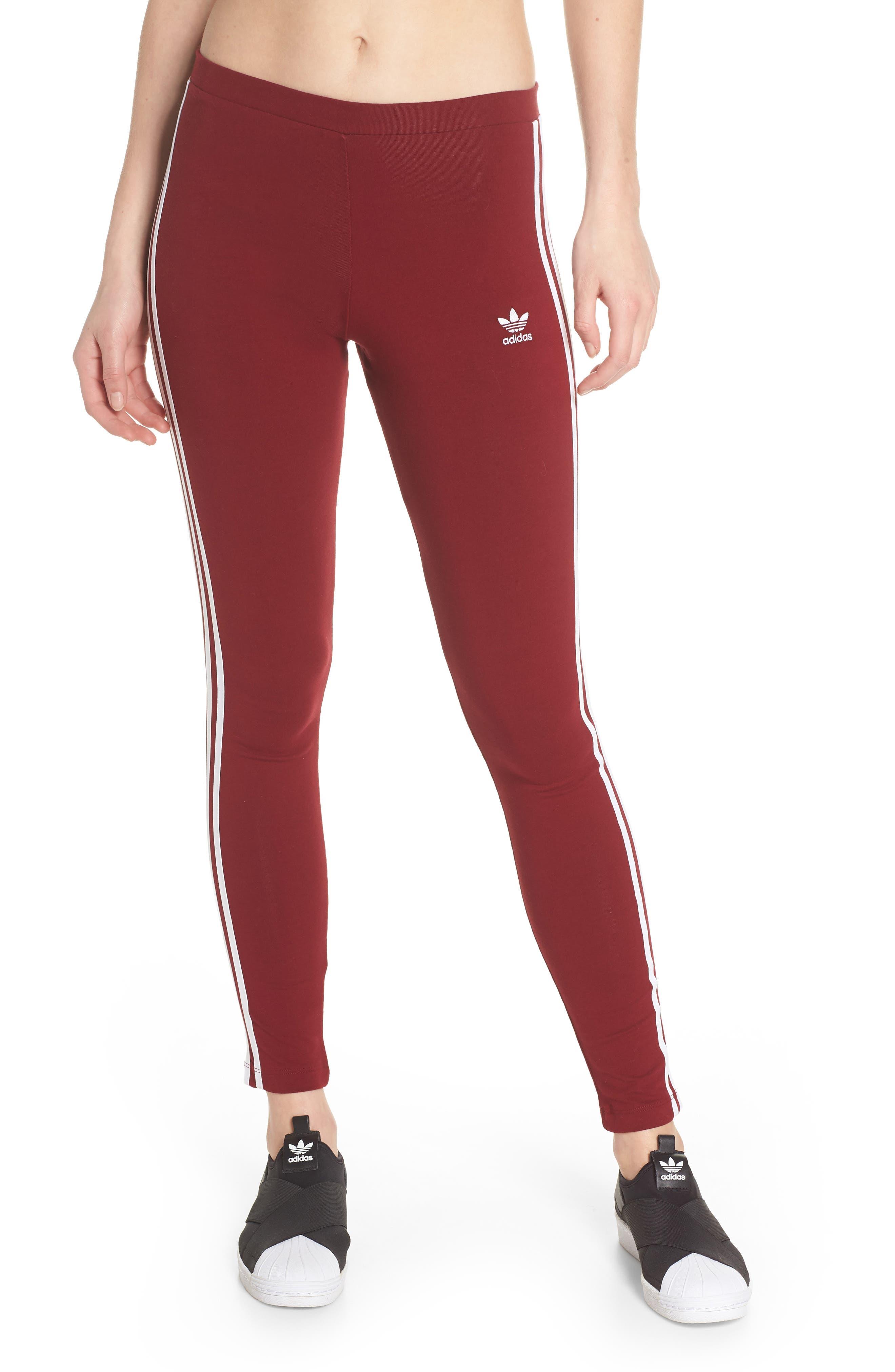 ,                             adidas 3-Stripes Tights,                             Main thumbnail 66, color,                             930