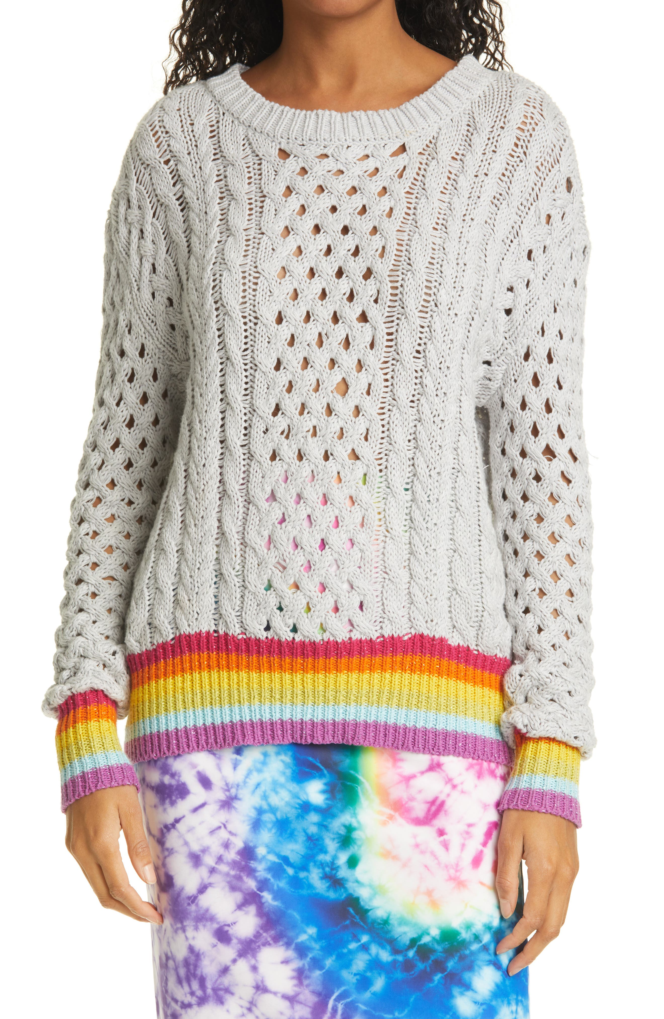 Silver Lining Cotton & Cashmere Sweater