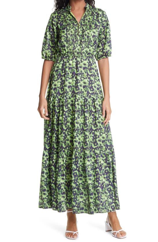 Birgitte Herskind BELLA PRINT TIERED RECYCLED MAXI DRESS