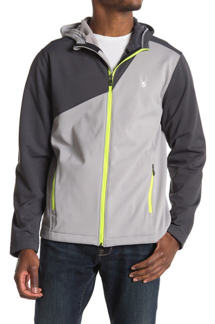 Image of SPYDER Hooded Soft Shell Jacket