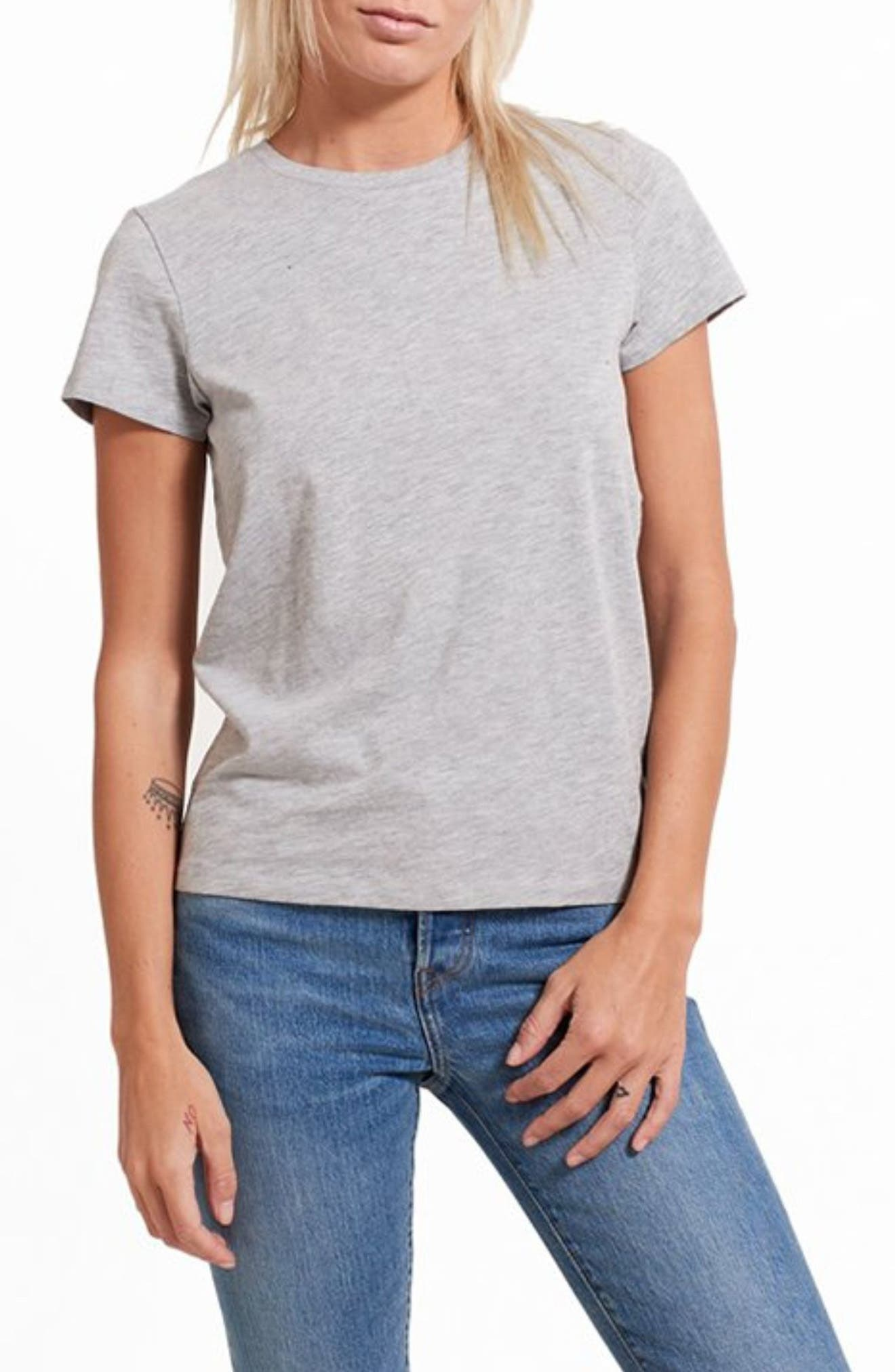 Slub Everyday Classic Crewneck T-Shirt