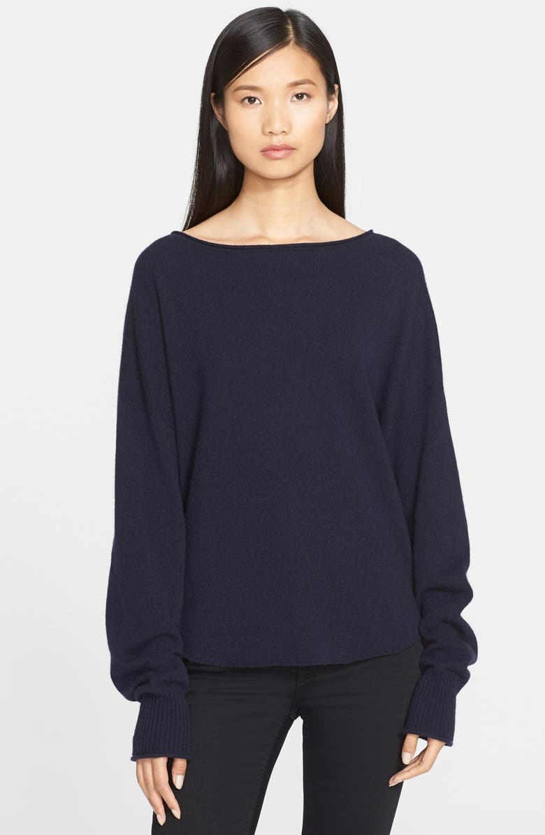 HELMUT LANG Cashmere Sweater, Main, color, 001