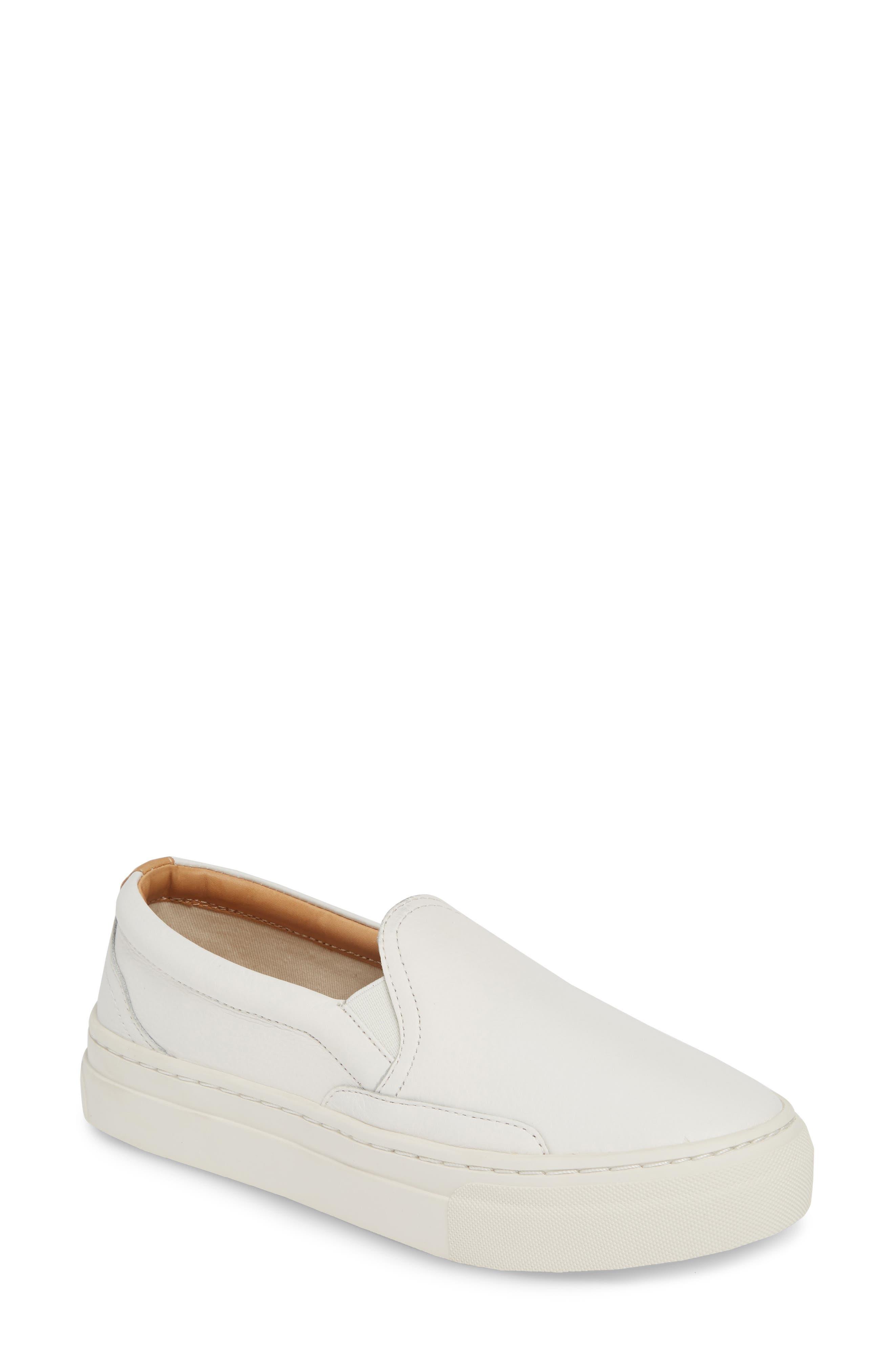 Soludos Bondi Slip-On Sneaker, White