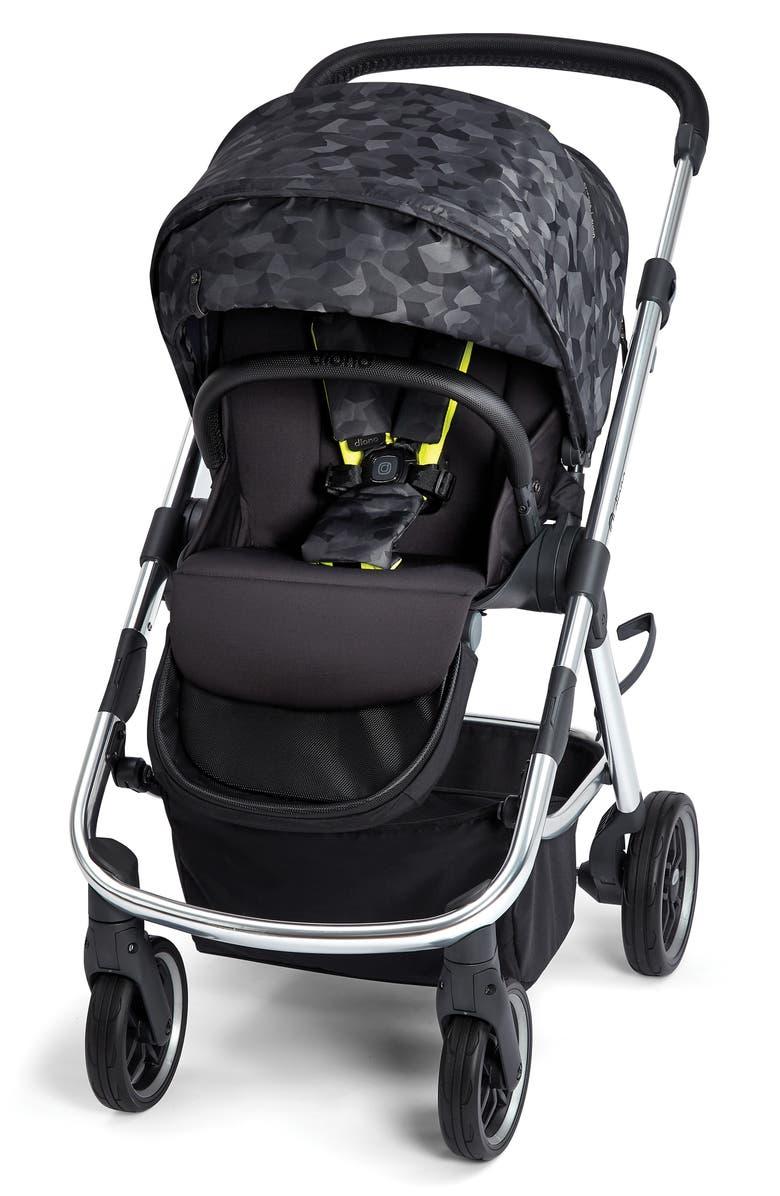 DIONO Excurze Luxe Stroller, Main, color, BLACK CAMO