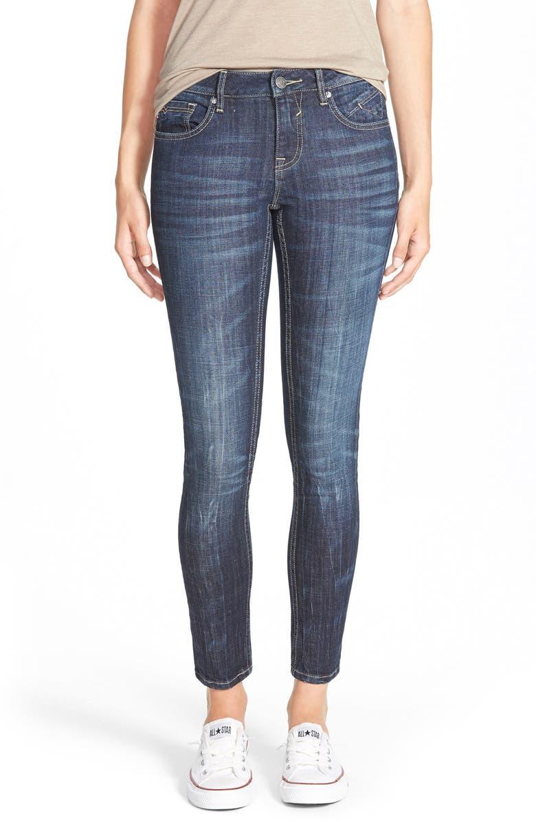 VIGOSS Ankle Skinny Jeans, Main, color, 400