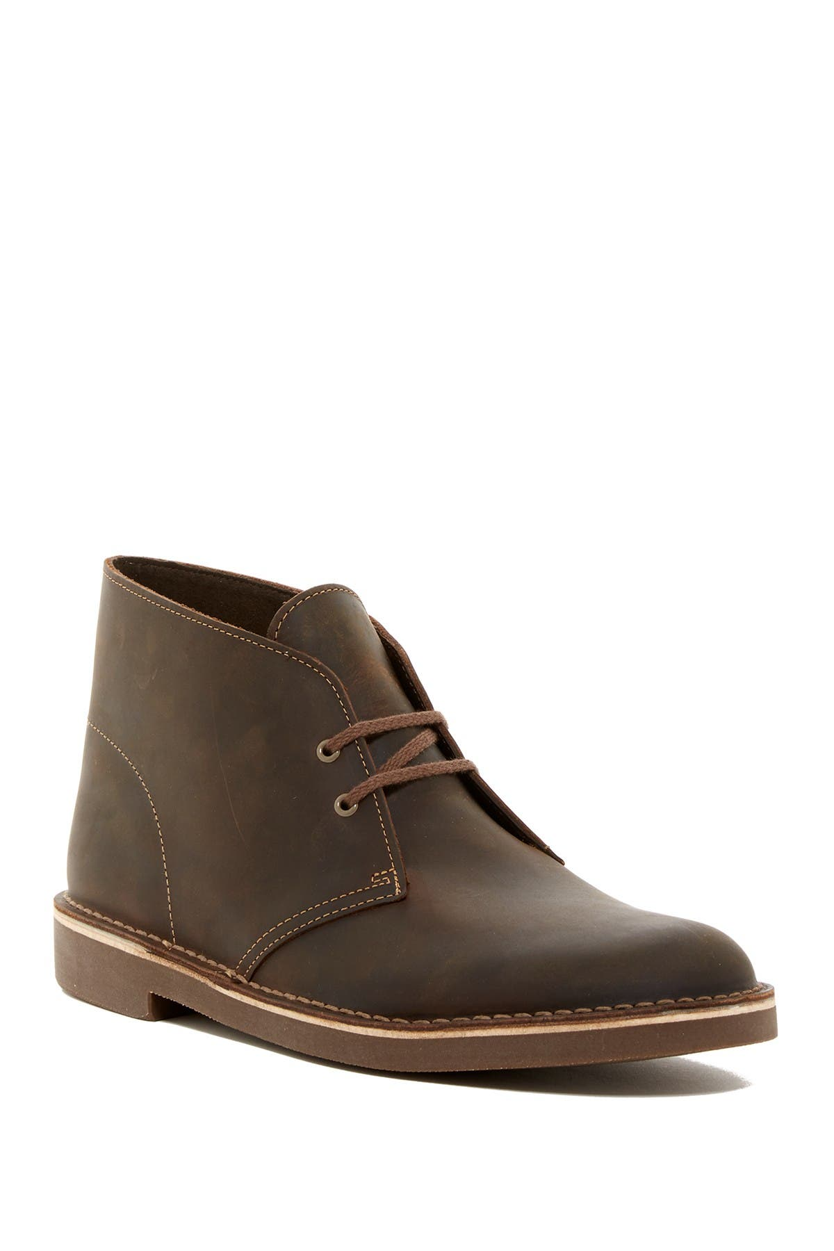 Clarks | Bushacre Leather Chukka Boot