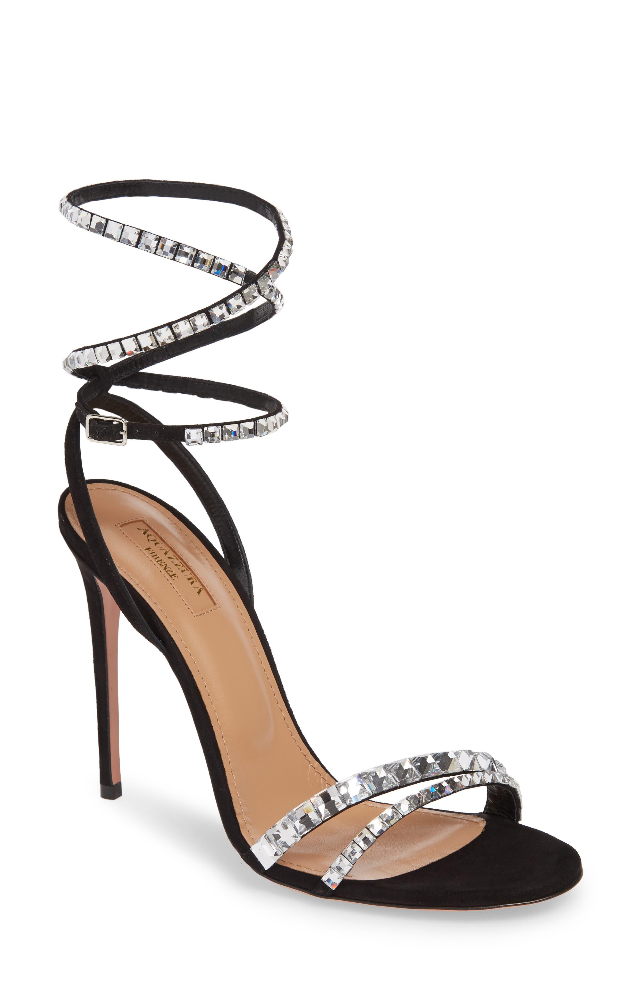Aquazzura Slippers So Vera Ankle Wrap Sandal