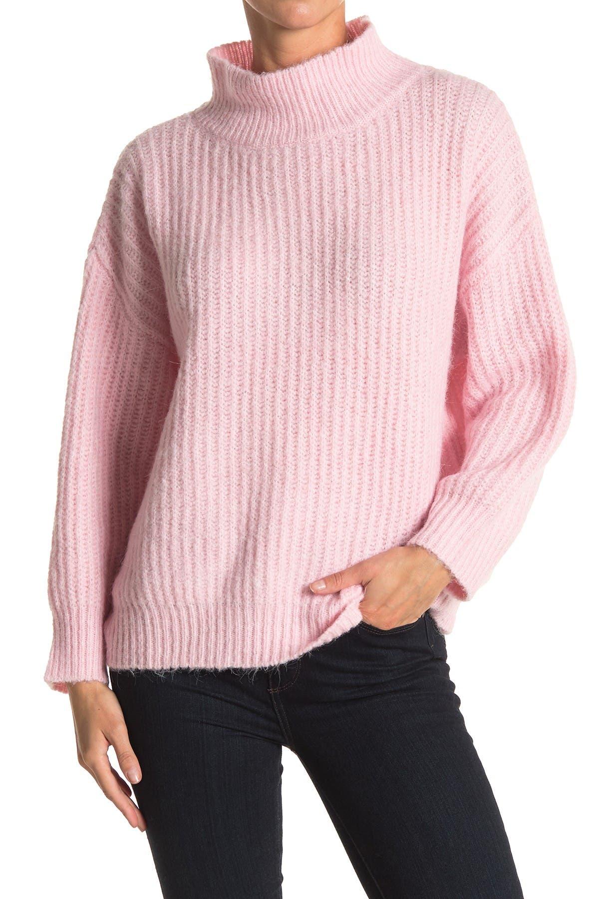 Image of FRNCH Neola Oversized Mock Neck Sweater