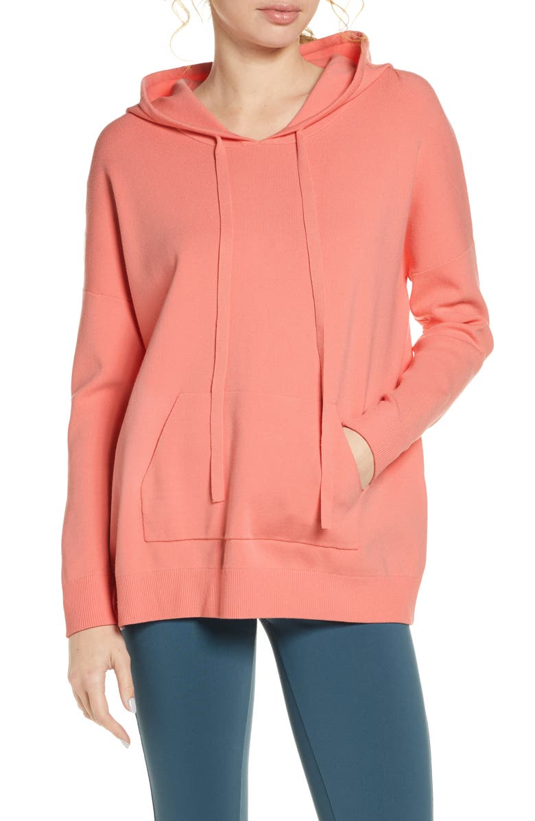 LIVE THE PROCESS Oversize Hoodie, Main, color, 650