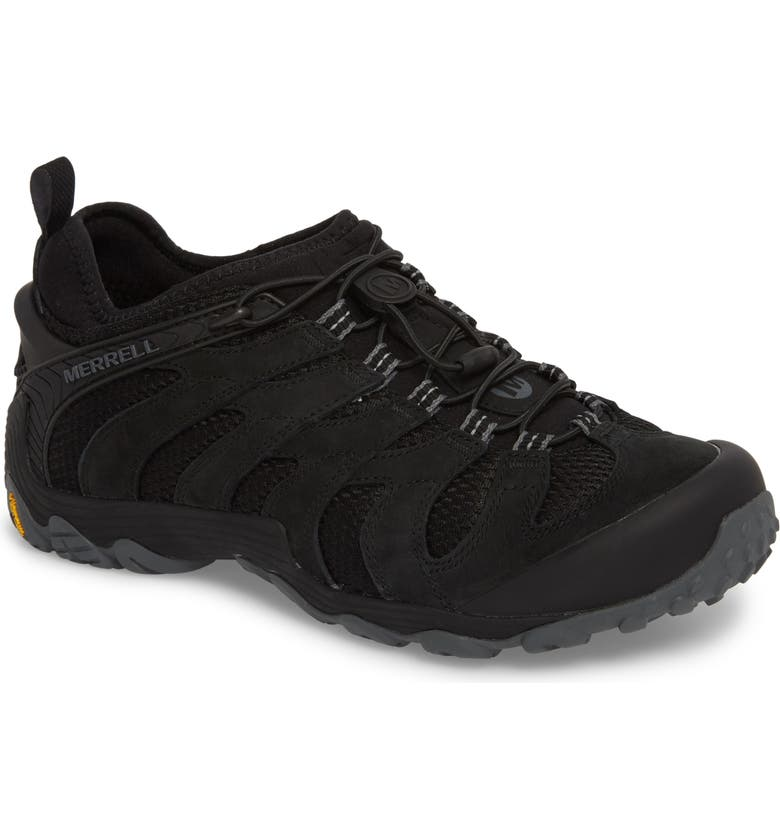 MERRELL Chameleon 7 Stretch Hiking Shoe, Main, color, BLACK