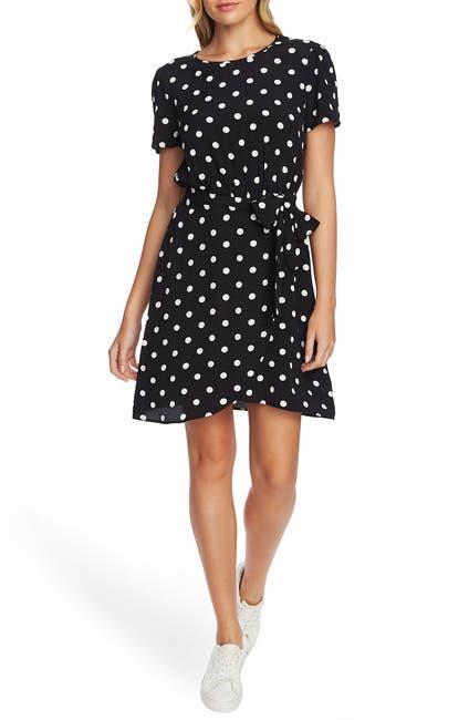Image of 1.State Polka Dot A-Line Dress
