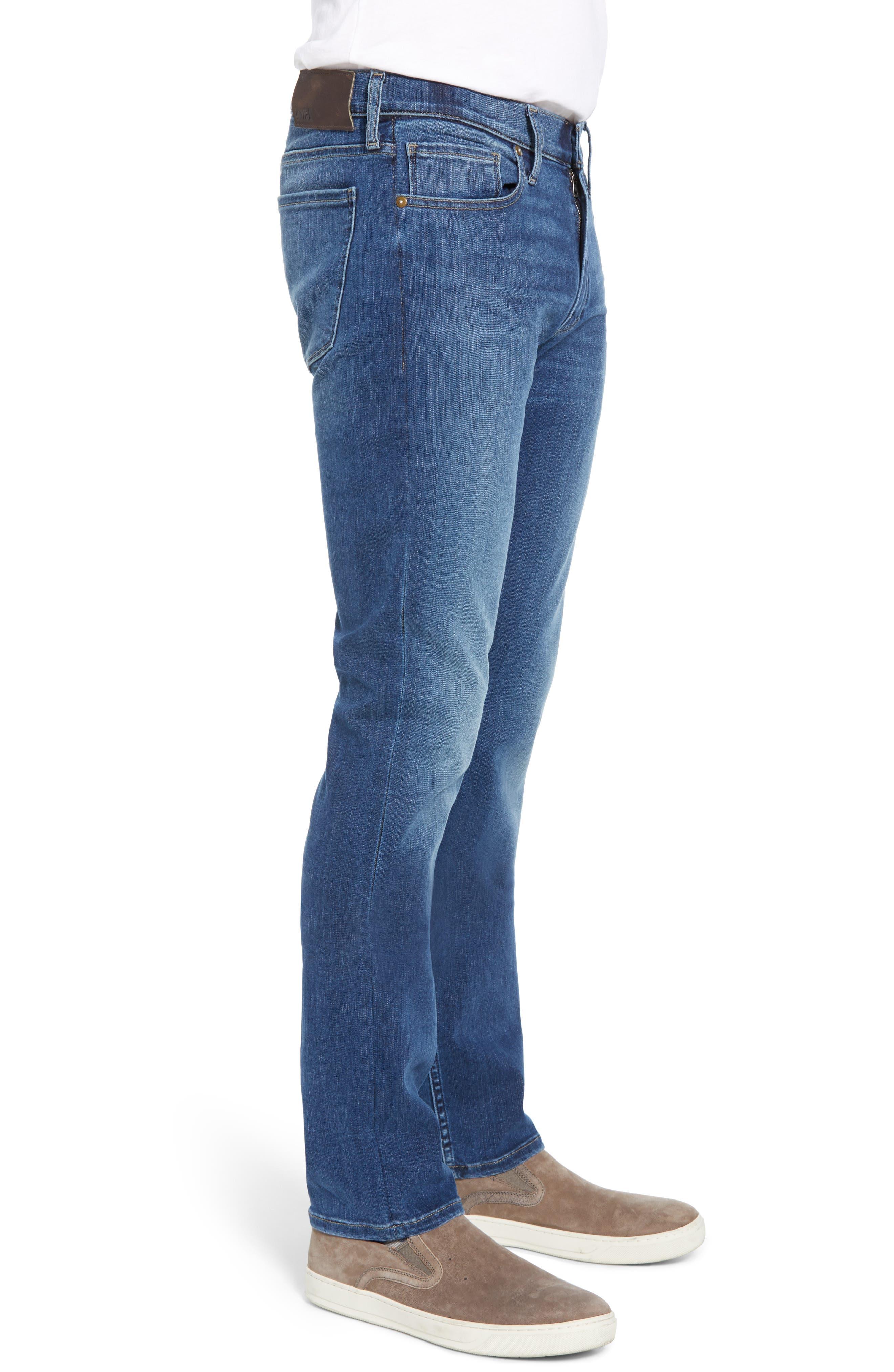 ,                             Transcend Vintage - Lennox Slim Fit Jeans,                             Alternate thumbnail 4, color,                             PRESTON