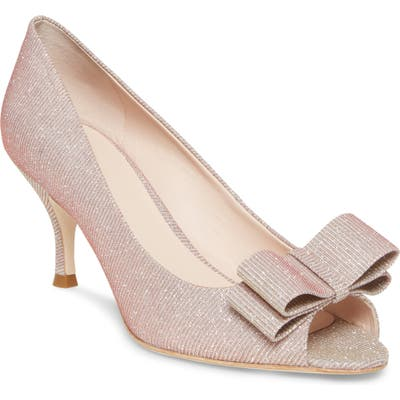Kate Spade New York Cecelia Peep Toe Pump- Pink
