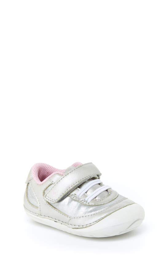 Stride Rite Kids' Toddler Girls Jazzy Soft Motion Shoes In Silverdnu