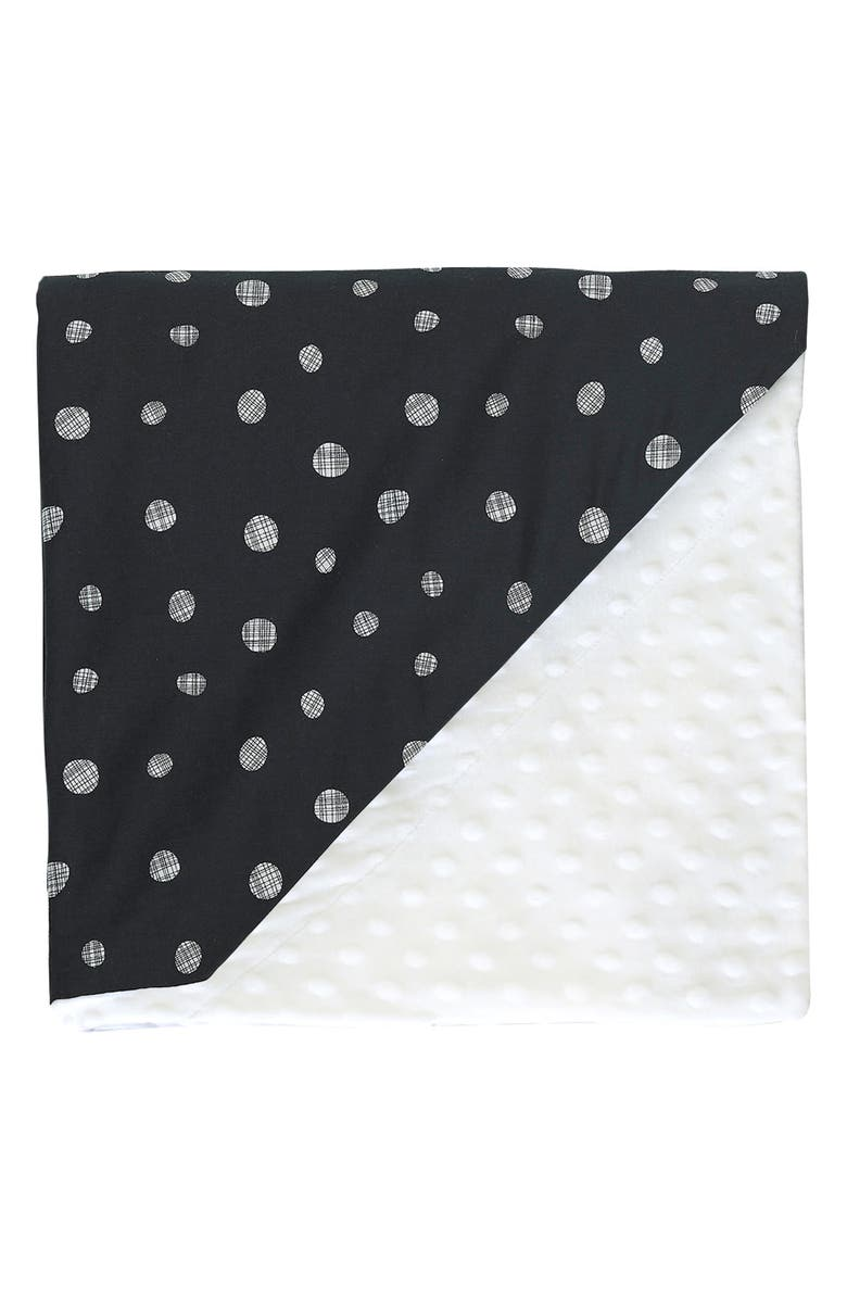 DONO & DONO Embossed Minky Baby Blanket, Main, color, ETOILE