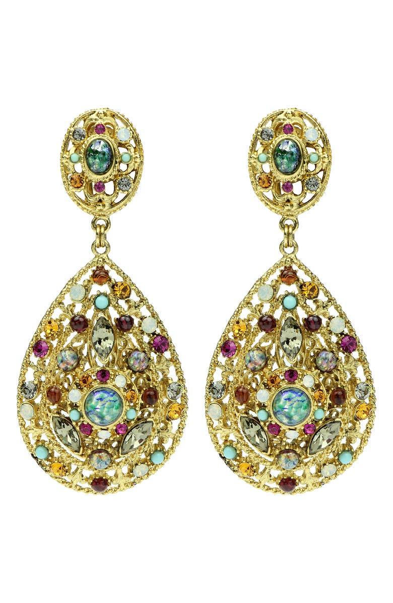 BEN-AMUN Boheme Drop Earrings, Main, color, 710
