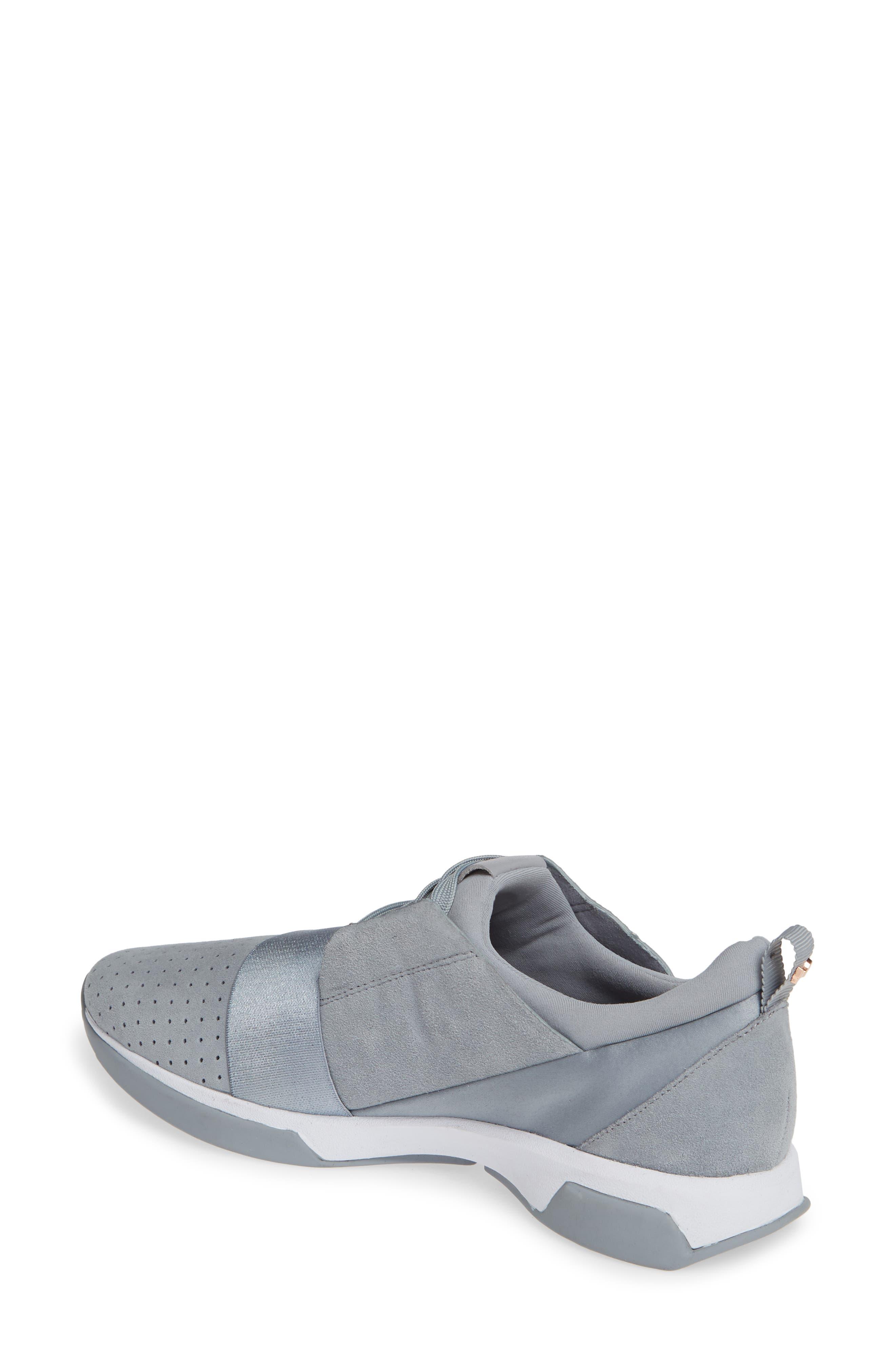 ,                             Cepap Sneaker,                             Alternate thumbnail 2, color,                             SLATE GREY SUEDE/ SATIN
