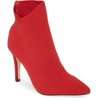 Mia Margerie Knit Bootie- Red
