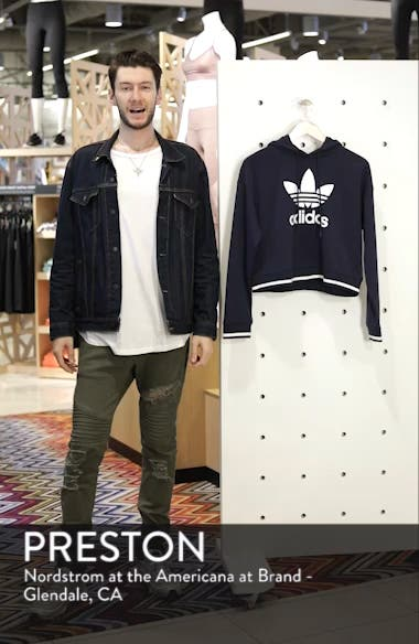 Active Icons Cropped Hoodie, sales video thumbnail