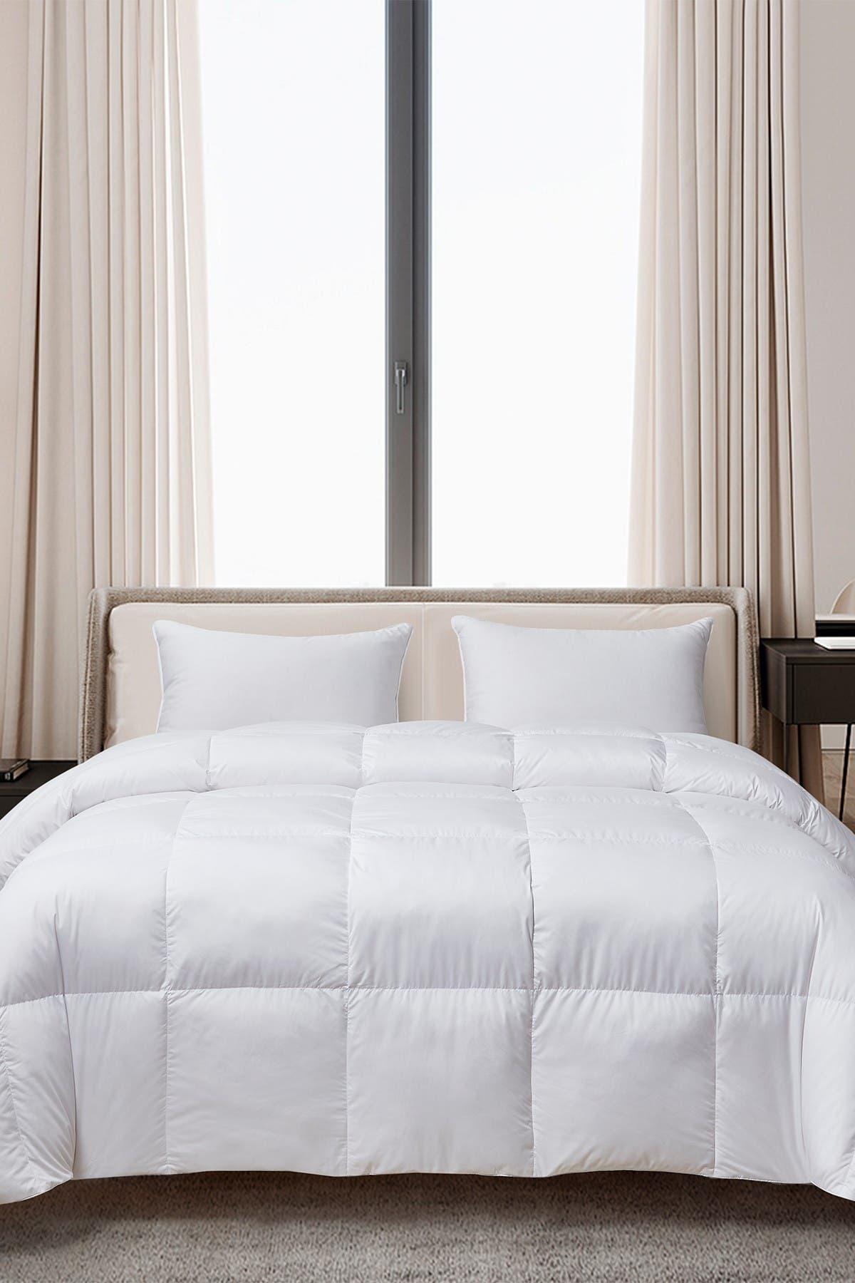 Image of Blue Ridge Home Fashions Cannon Ultra-Soft Nano-Touch All Season Down Fiber Comforter - Full/Queen - White