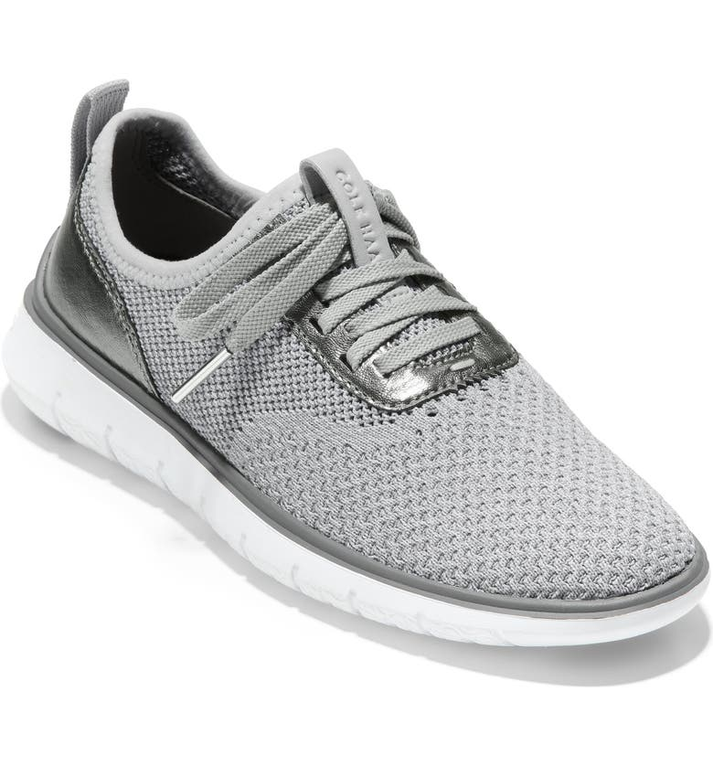 COLE HAAN ZeroGrand Generation Stitchlite Sneaker, Main, color, VAPOR GREY FABRIC