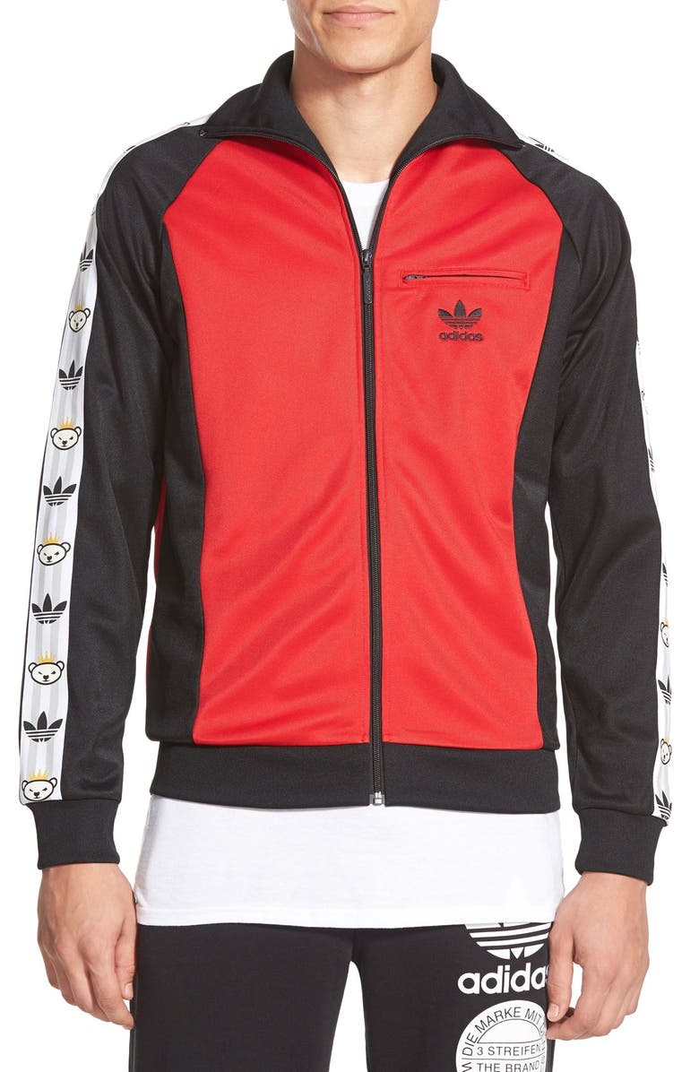 sports shoes 36253 3fca6 adidas Originals x Nigo 'Retro Bear' Track Jacket | Nordstrom