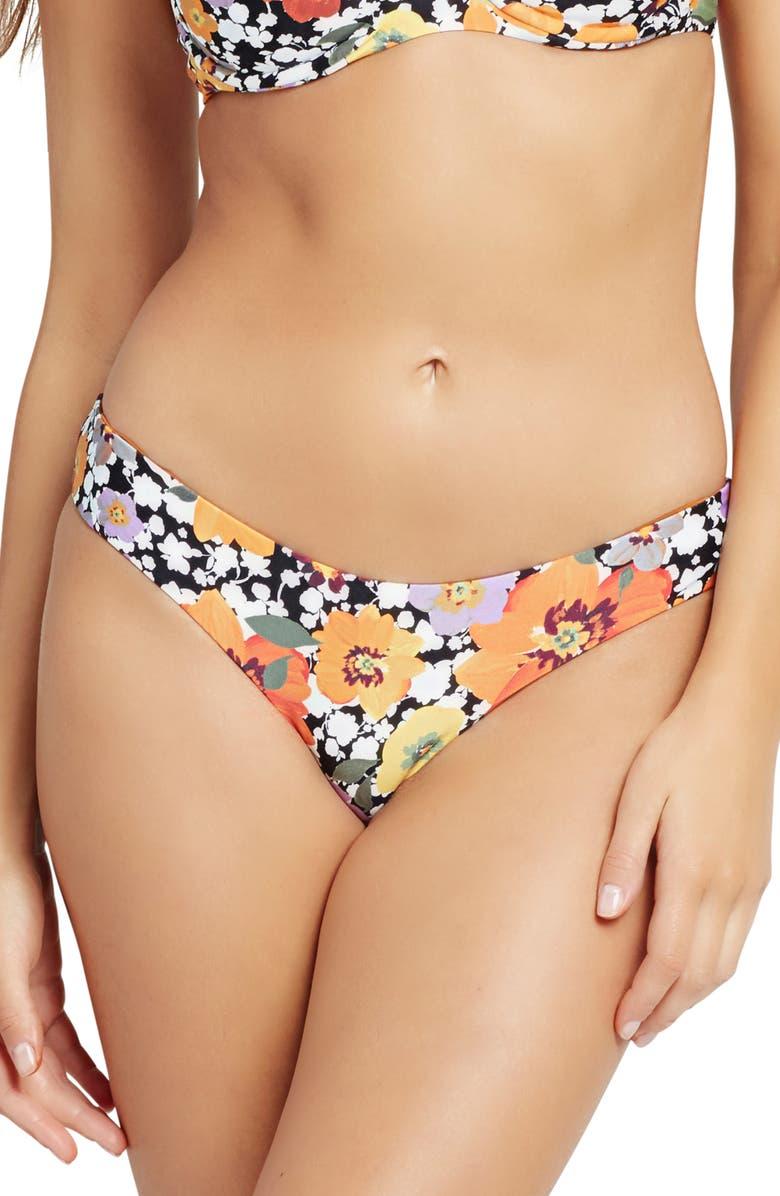 L SPACE Sandy Classic Bikini Bottoms, Main, color, 105