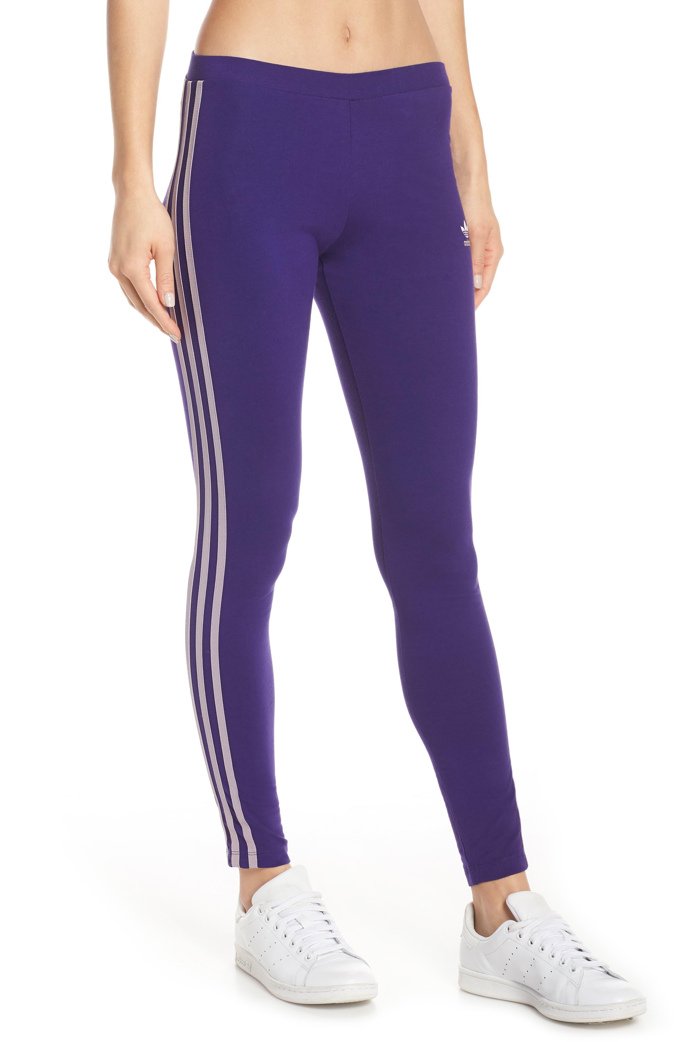 ,                             adidas 3-Stripes Tights,                             Main thumbnail 38, color,                             500