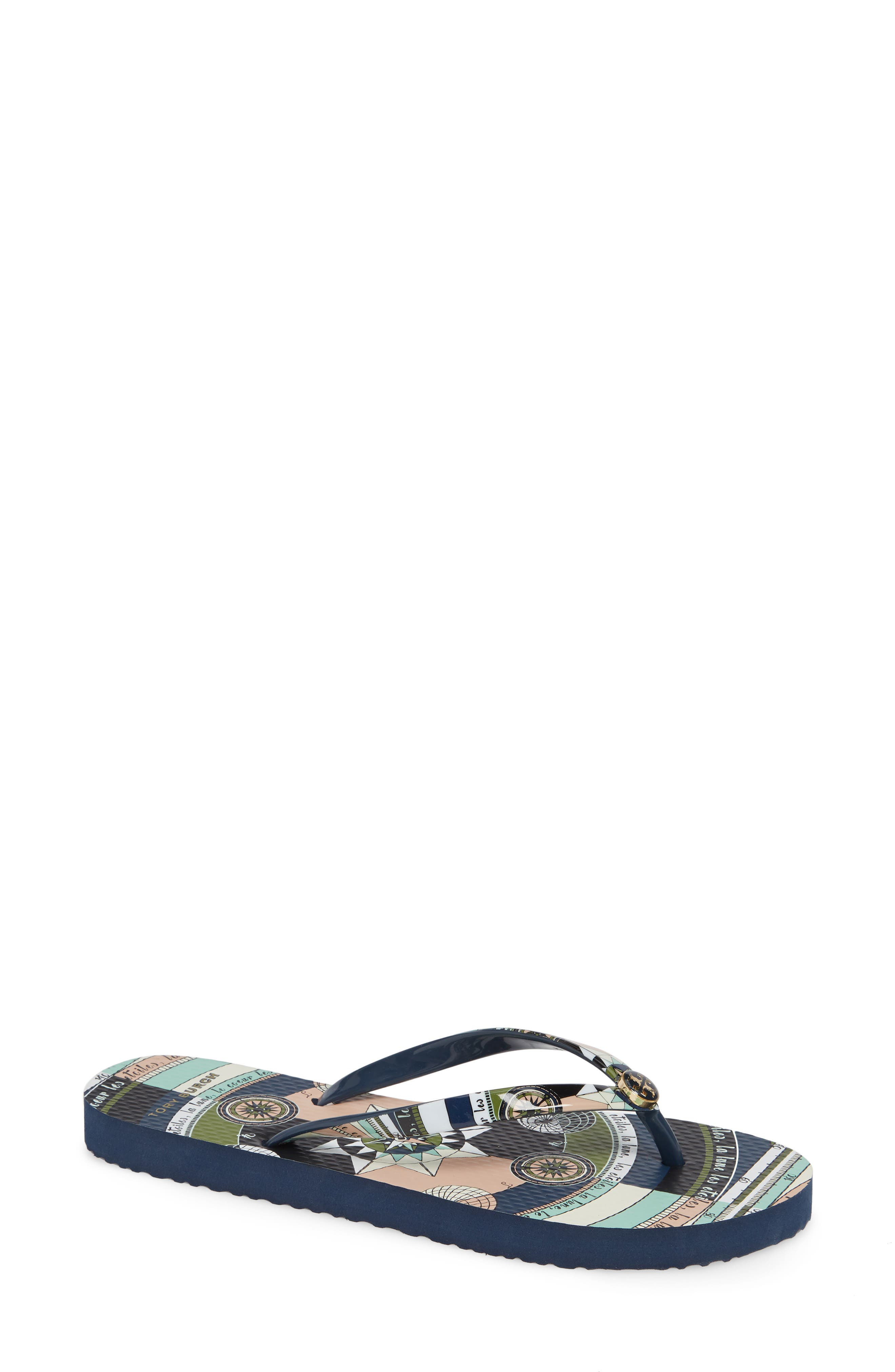 Thin Flip Flop, Main, color, NAVY CONSTELLATION