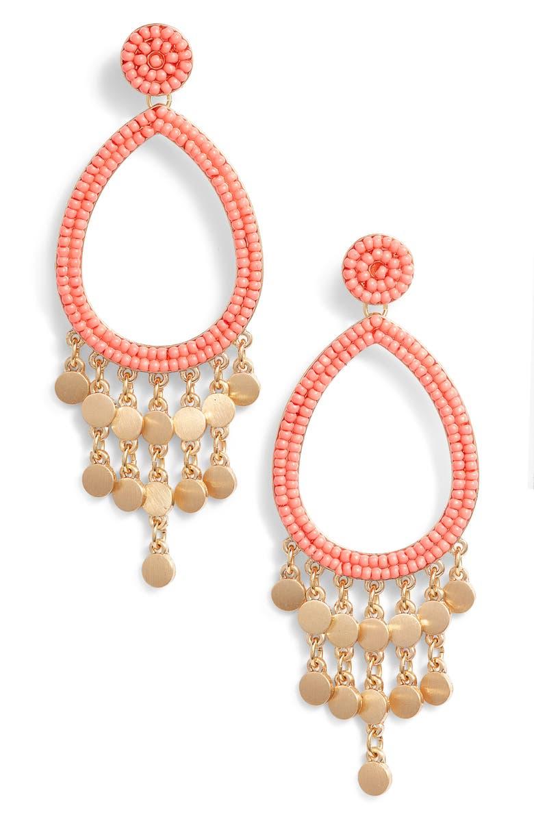a0c4f7c62cda8 Rebecca Minkoff Riley Beaded Drop Earrings | Nordstrom