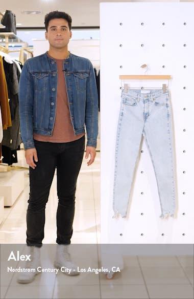 Jamie Jagged Hem High Waist Jeans, sales video thumbnail
